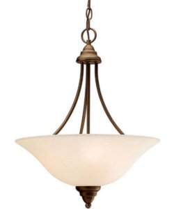 Kichler Telford 3-Light Fluorescent Pendant Olde Bronze 10706OZ